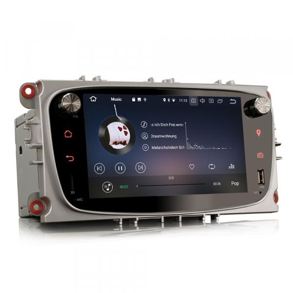 Navigatie auto 2 din, Pachet dedicat Ford Focus Mondeo, 7 Inch, Android 10.0 1