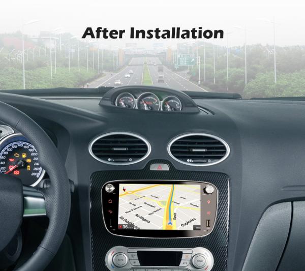 Navigatie auto 2 din, Pachet dedicat Ford Focus Mondeo, 7 Inch, Android 10.0 9