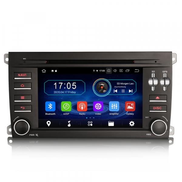 Navigatie auto, Pachet dedicat Porsche Cayenne,7 inch, Android 10, Octa Core 0