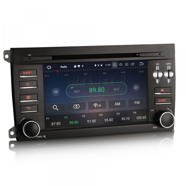 Navigatie auto, Pachet dedicat Porsche Cayenne,7 inch, Android 10, Octa Core [4]