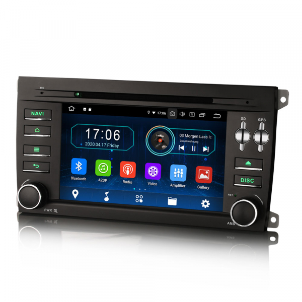 Navigatie auto, Pachet dedicat Porsche Cayenne,7 inch, Android 10, Octa Core [2]