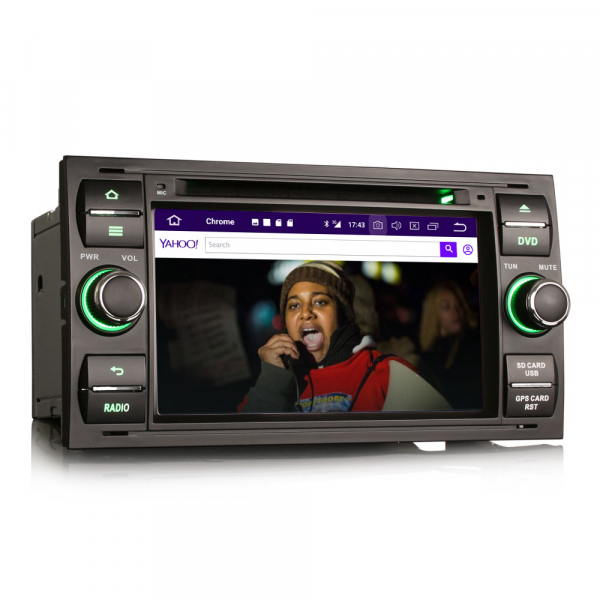 Navigatie auto 2Din, Pachet dedicat Ford Focus Kuga Transit Galaxy, 7 Inch, Android 10.0 4