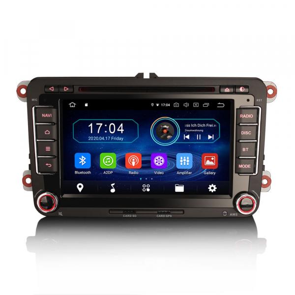 Navigatie auto, Pachet dedicat VW Caddy MK6 Polo Magotan Seat Leon Skoda Superb, Android 10.0, 7 inch,Octa Core [0]