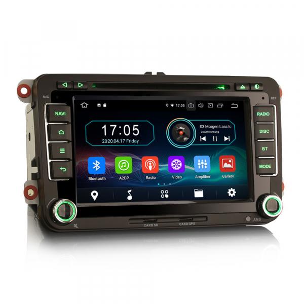 Navigatie auto, Pachet dedicat VW Caddy MK6 Polo Magotan Seat Leon Skoda Superb, Android 10.0, 7 inch,Octa Core [6]