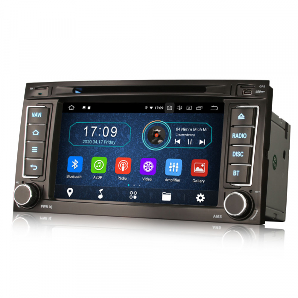 Navigatie auto, Pachet dedicat VW TOUAREG T5 Multivan, 7 Inch, Android 10.0,Octa Core 3