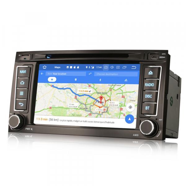 Navigatie auto, Pachet dedicat VW TOUAREG T5 Multivan, 7 Inch, Android 10.0,Octa Core 4