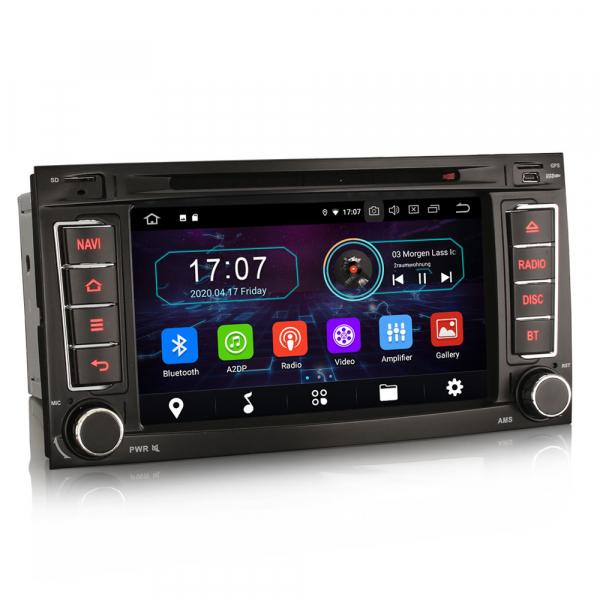 Navigatie auto, Pachet dedicat VW TOUAREG T5 Multivan, 7 Inch, Android 10.0,Octa Core 5