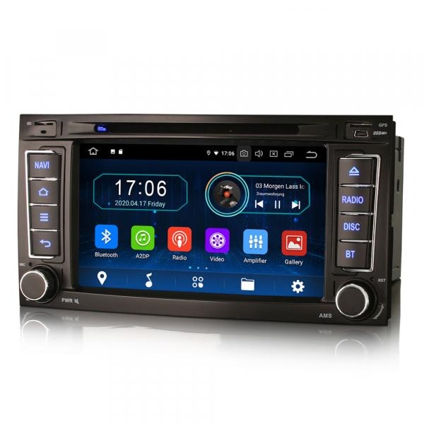 Navigatie auto, Pachet dedicat VW TOUAREG T5 Multivan, 7 Inch, Android 10.0,Octa Core 2
