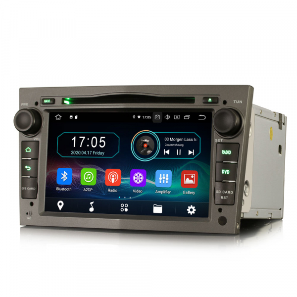 Navigatie auto, Pachet dedicat Opel Vauxhall Vivaro Astra Corsa Zafira Signum, 7 Inch, Android 10.0 6