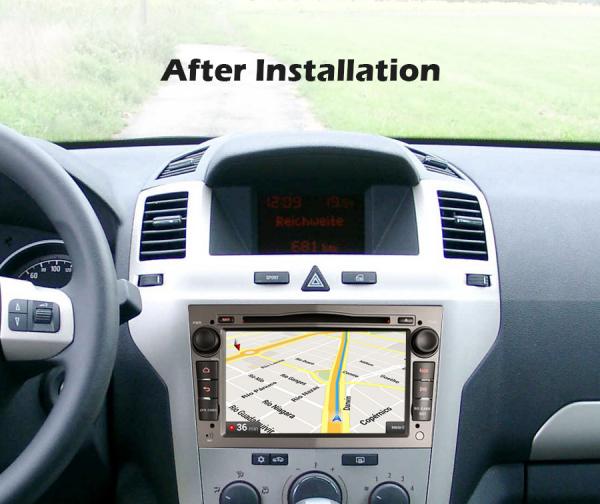 Navigatie auto, Pachet dedicat Opel Vauxhall Vivaro Astra Corsa Zafira Signum, 7 Inch, Android 10.0 8