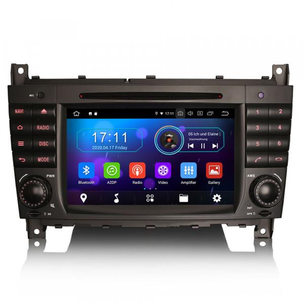 Navigatie auto, Pachet dedicat MercedesBenz C-Class W203 CLC CLK W209,7 inch, Android 10, Octa Core 0