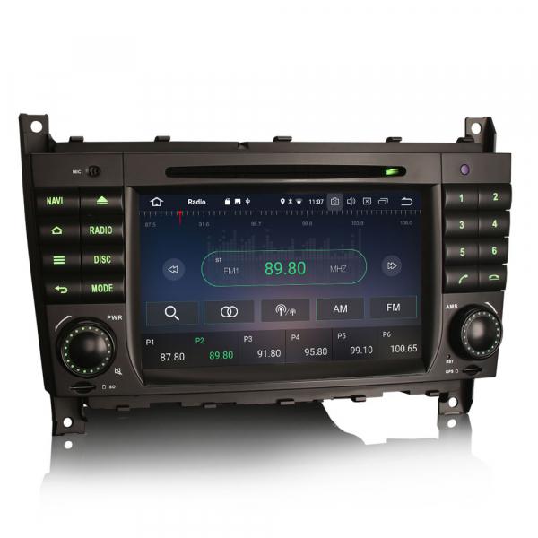 Navigatie auto, Pachet dedicat MercedesBenz C-Class W203 CLC CLK W209,7 inch, Android 10, Octa Core 4