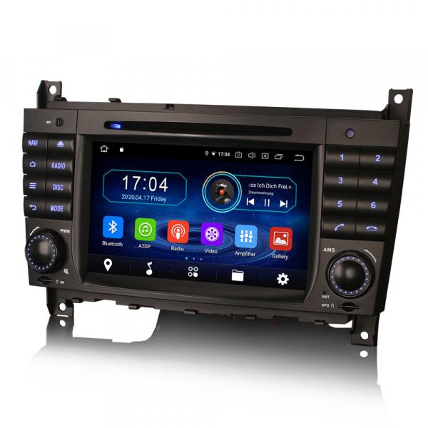 Navigatie auto, Pachet dedicat MercedesBenz C-Class W203 CLC CLK W209,7 inch, Android 10, Octa Core 2