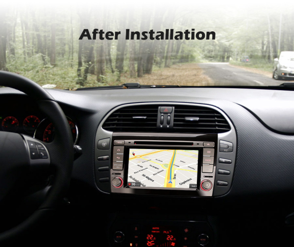 Navigatie auto, Pachet dedicat Fiat Bravo ,7 inch, Android 10 [8]