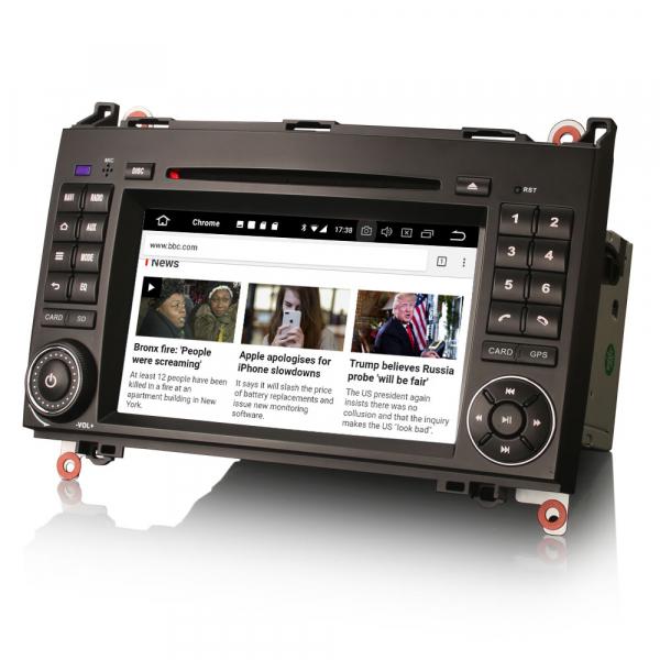 Navigatie auto, Pachet dedicat Mercedes Benz W169 W245 Viano Vito A-Class B-Class,7 inch, Android 10, Octa Core [3]