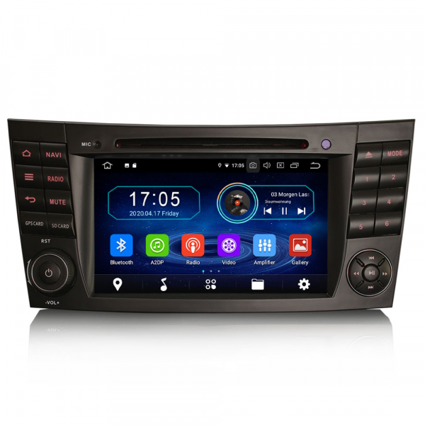 Navigatie auto, Pachet dedicat Benz E Class W211,7 inch, Android 10.0 [0]