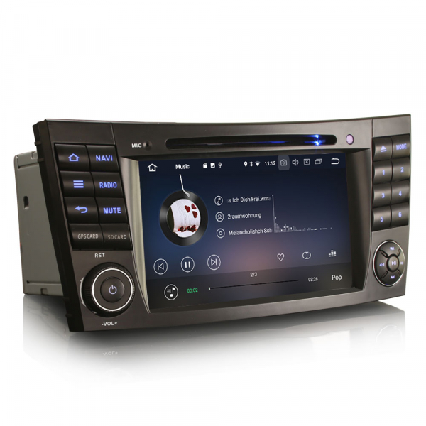 Navigatie auto, Pachet dedicat Benz E Class W211,7 inch, Android 10.0 1