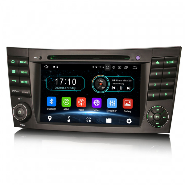 Navigatie auto, Pachet dedicat Benz E Class W211,7 inch, Android 10.0 3