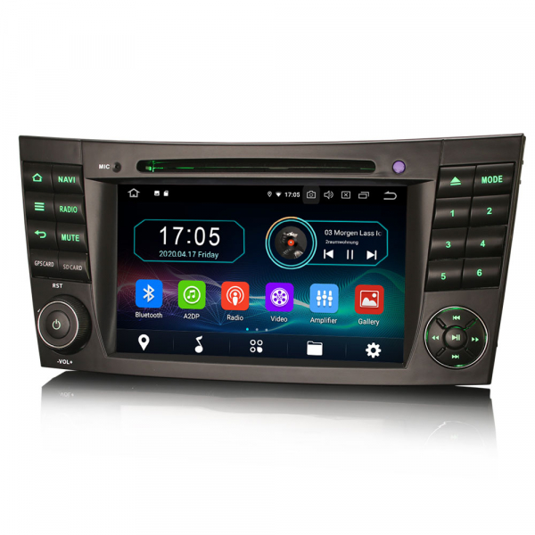 Navigatie auto, Pachet dedicat Benz E Class W211,7 inch, Android 10.0 [4]
