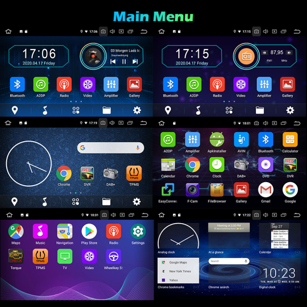 Navigatie auto, Pachet dedicat Benz E Class W211,7 inch, Android 10.0 [8]