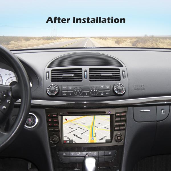 Navigatie auto, Pachet dedicat Benz E Class W211,7 inch, Android 10.0 7