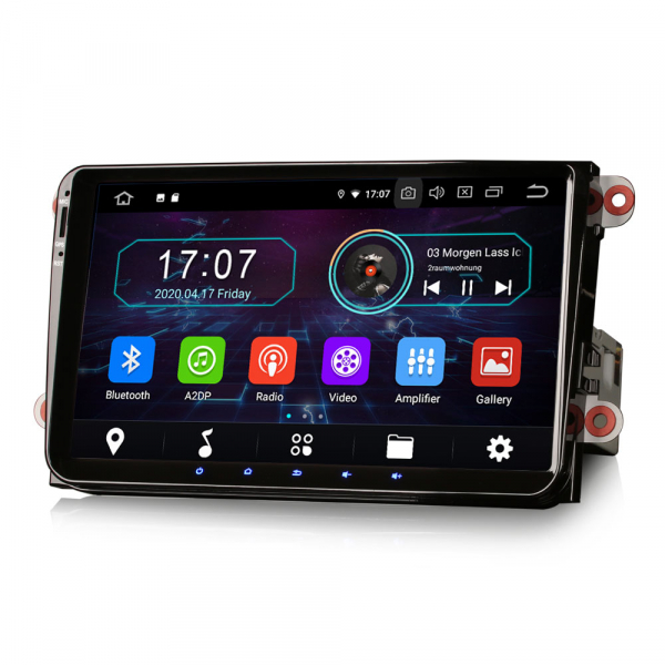 Navigatie auto, Pachet dedicat VW Golf 5 Passat Tiguan Polo Eos Skoda, 9 Inch, Android 10.0 5