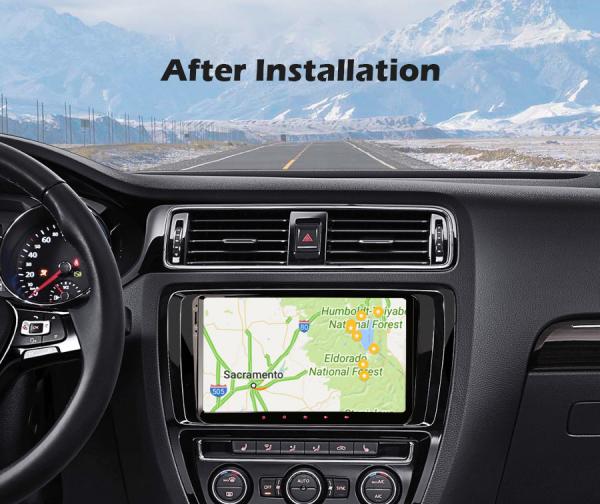 Navigatie auto, Pachet dedicat VW Golf 5 Passat Tiguan Polo Eos Skoda, 9 Inch, Android 10.0 8