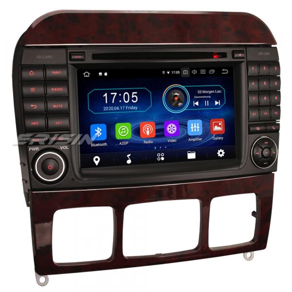 Navigatie auto, Pachet dedicat Mercedes-Benz S-Class W220 CL-Class W215,7 inch, Android 10, Octa Core [6]