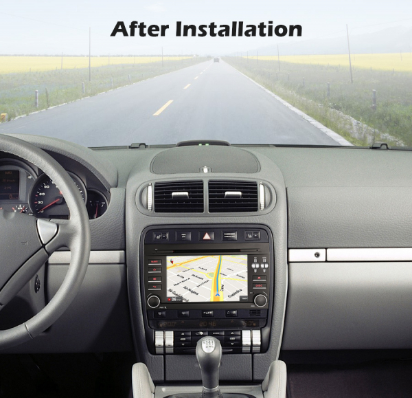 Navigatie auto, Pachet dedicat Porsche Cayenne,7 inch, Android 10, Octa Core 7