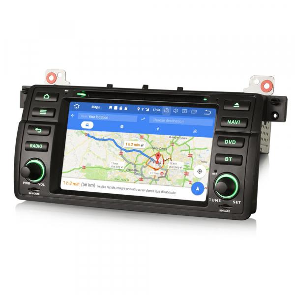 Navigatie auto, Pachet dedicat BMW M3 E46 3er 318 Rover 75,7 inch, Android 10.0, Octa Core [5]