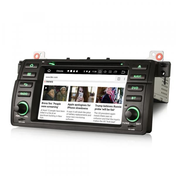 Navigatie auto, Pachet dedicat BMW M3 E46 3er 318 Rover 75,7 inch, Android 10.0, Octa Core [1]