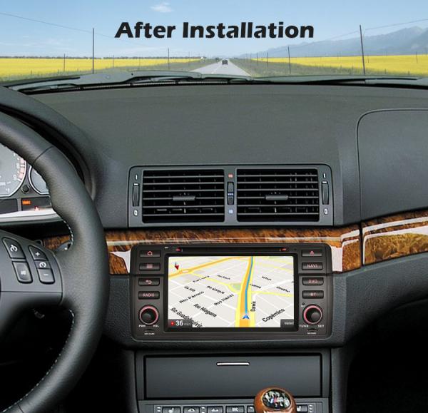 Navigatie auto, Pachet dedicat BMW M3 E46 3er 318 Rover 75,7 inch, Android 10.0, Octa Core [7]