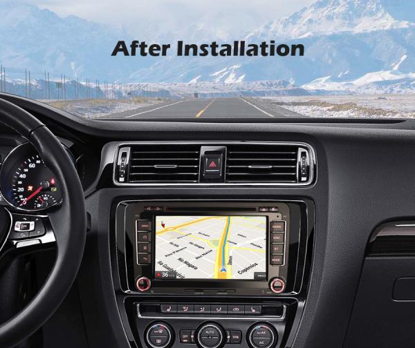 Navigatie auto, Pachet dedicat VW Caddy MK6 Polo Magotan Seat Leon Skoda Superb, Android 10.0, 7 inch,Octa Core [7]