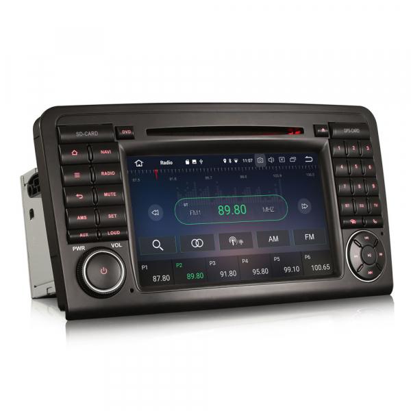 Navigatie auto, Pachet dedicat Mercedes-Benz ML-Class W164 GL-Class X164 ,7 inch, Android 10, Octa Core [5]