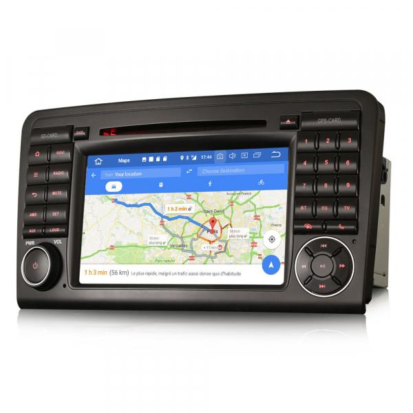 Navigatie auto, Pachet dedicat Mercedes-Benz ML-Class W164 GL-Class X164 ,7 inch, Android 10, Octa Core [6]