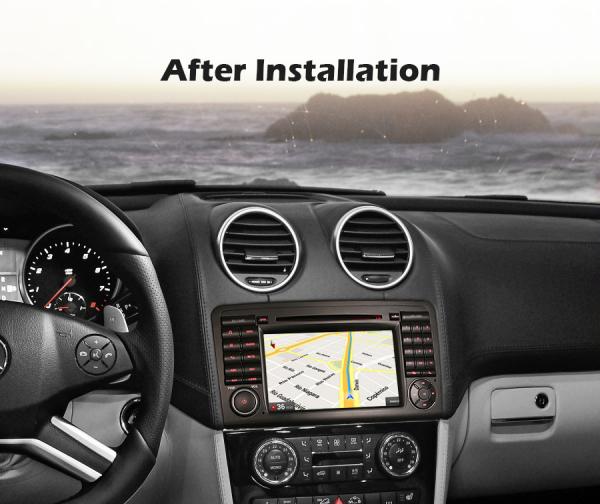 Navigatie auto, Pachet dedicat Mercedes-Benz ML-Class W164 GL-Class X164 ,7 inch, Android 10, Octa Core [8]