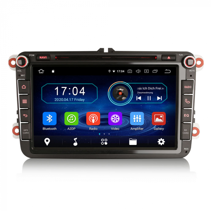 Navigatie auto 2 din, Pachet dedicat VW/SEAT/SKODA, Android 10, Octa Core 0