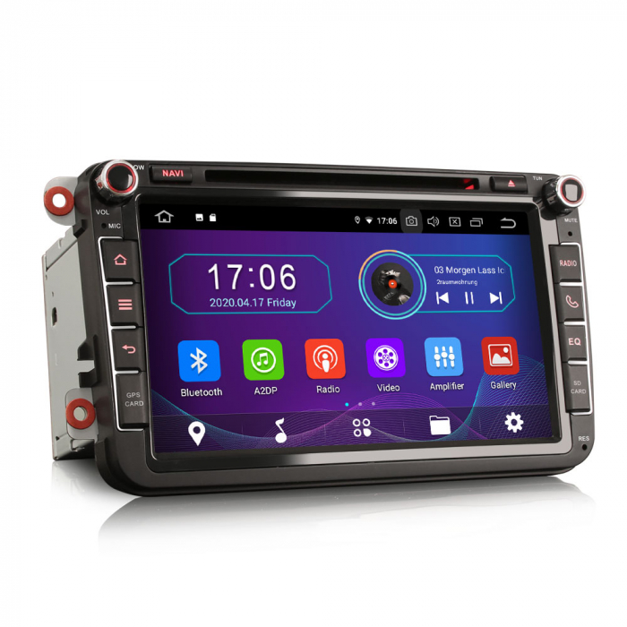 Navigatie auto 2 din, Pachet dedicat VW/SEAT/SKODA, Android 10, Octa Core 2