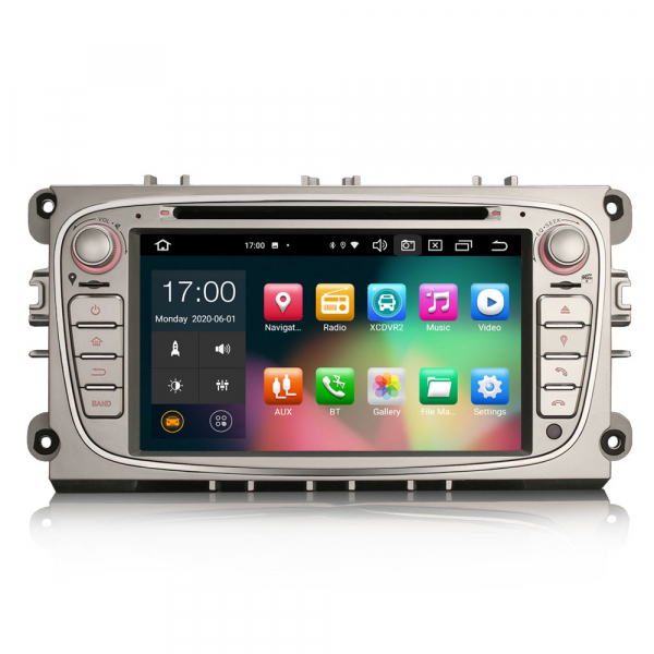 Navigatie auto, Pachet dedicat  Ford Mondeo Focus Galaxy S-MAX C-MAX ,7 inch, Android10.0, Octa Core [0]