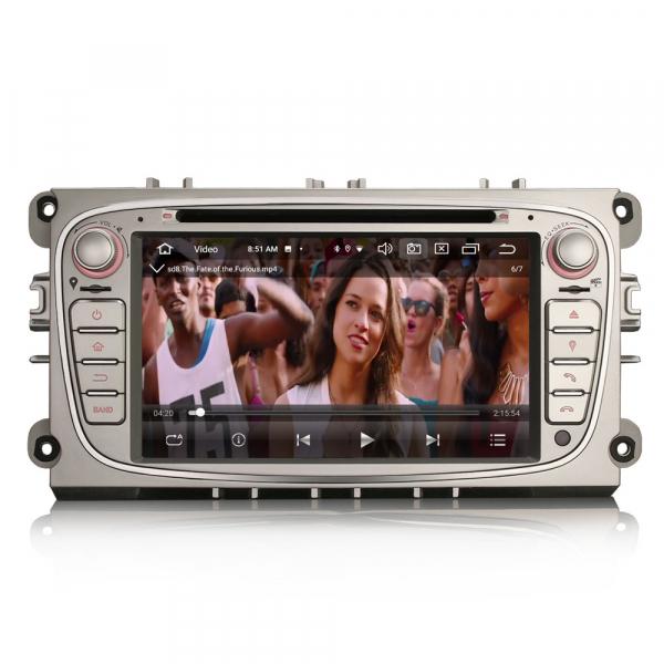 Navigatie auto, Pachet dedicat  Ford Mondeo Focus Galaxy S-MAX C-MAX ,7 inch, Android10.0, Octa Core [7]