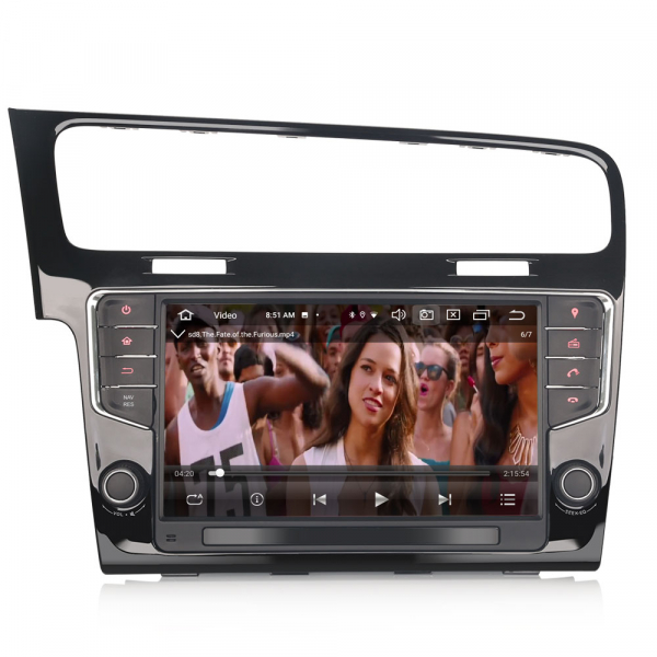 Navigatie auto 2Din, VW GOLF VII/7, Android 10, 9 inch, Octa core CPU [4]