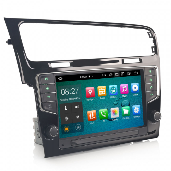 Navigatie auto 2Din, VW GOLF VII/7, Android 10, 9 inch, Octa core CPU [5]
