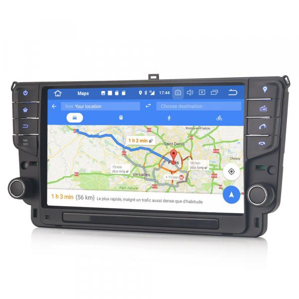 Navigatie auto 2Din, VW GOLF VII/7, Android 10, 9 inch, Octa core CPU [6]