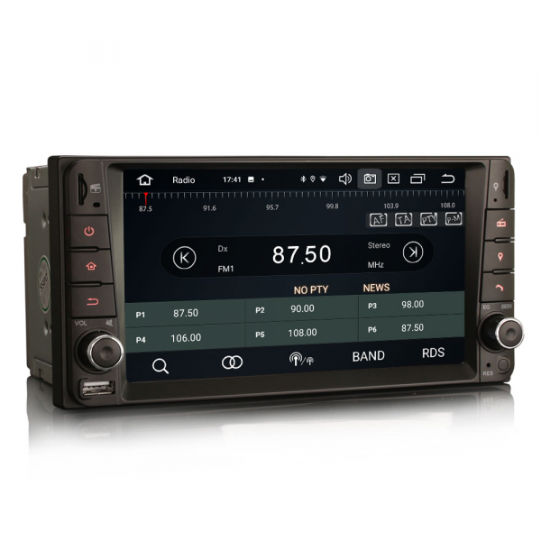 Navigatie auto, Pachet dedicat TOYOTA COROLA HILUX RAV4, 7 inch, Android 10, Octa Core 6