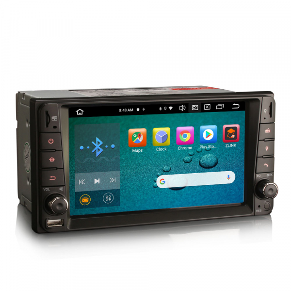 Navigatie auto, Pachet dedicat TOYOTA COROLA HILUX RAV4, 7 inch, Android 10, Octa Core 1