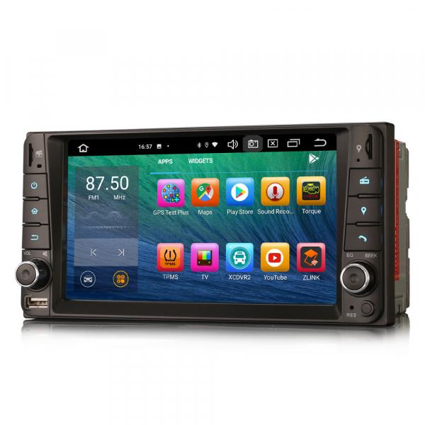 Navigatie auto, Pachet dedicat TOYOTA COROLA HILUX RAV4, 7 inch, Android 10, Octa Core 2