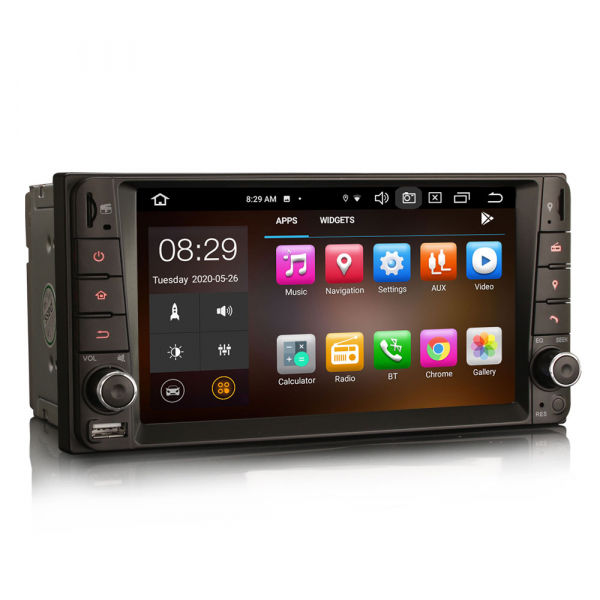 Navigatie auto, Pachet dedicat TOYOTA COROLA HILUX RAV4, 7 inch, Android 10, Octa Core 3