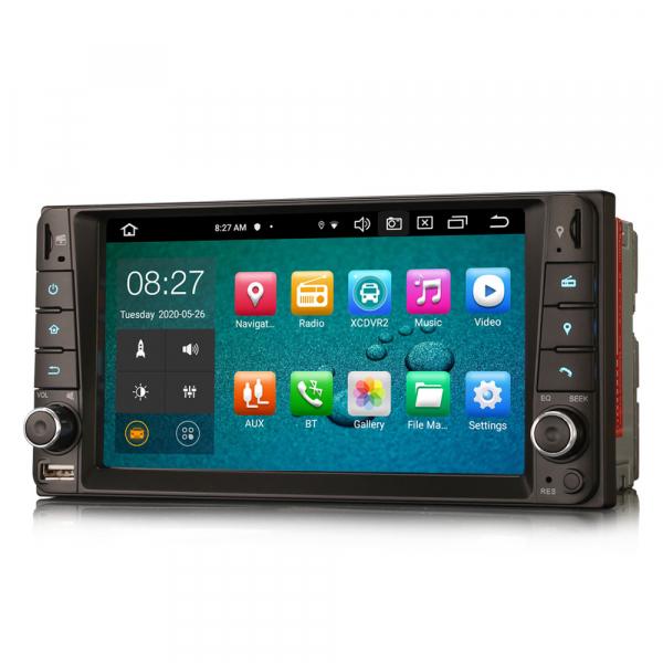Navigatie auto, Pachet dedicat TOYOTA COROLA HILUX RAV4, 7 inch, Android 10, Octa Core 4