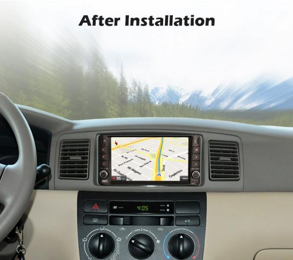 Navigatie auto, Pachet dedicat TOYOTA COROLA HILUX RAV4, 7 inch, Android 10, Octa Core 7
