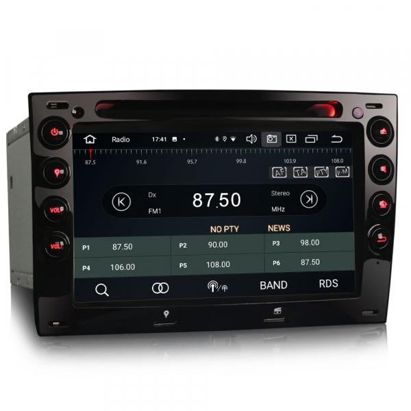 Navigatie auto, Pachet dedicat Renault Megane, 7 Inch,Android 10.0, Octa Core 6